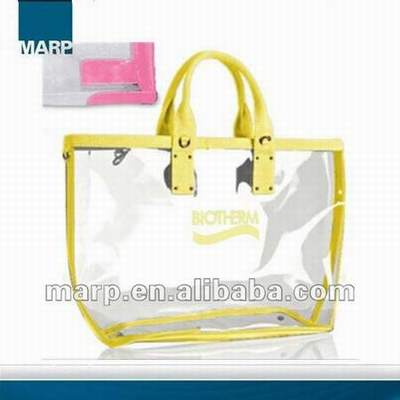 Sac Plastique Transparent Avion